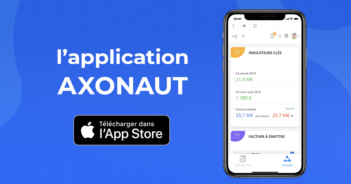 Application Axonaut iPhone / iOS